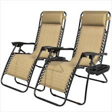 Lounge Patio Chair Outdoor Lounge Chair Buy Zero Gravity Chairs Case Of 2 Tan