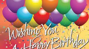 wish you happy birthday my