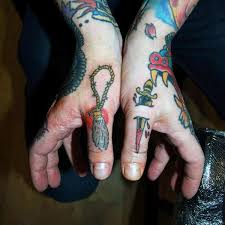 90 thumb tattoos for men left and right digit design ideas