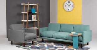 furniture turquoise sofa with floor lamp and area rug for home carey 3 seater turquoise sofa with wood legs for home furniture ideas