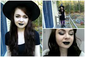 diy witch costume makeup tutorial youtube