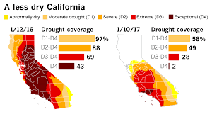 me a map of california call it the southern california drought and end