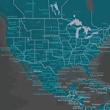Washington world travel images Push pin world travel maps jpg