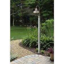 barn style post lights galvanized steel 84 high direct burial pole galvanized steel