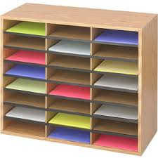 literature racks u0026 sorters shop the best office furnishings