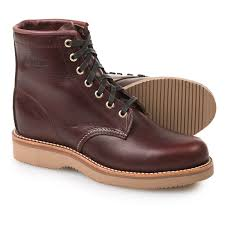 womens boots toe chippewa plain toe lace up boots for save 76