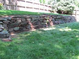 dry stack moss rock wall in louisville co by glacier view