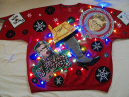 sz 3xl xxxlarge mens a christmas story sweater light up ugly
