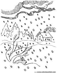 winter storm coloring sheet create a printout or activity