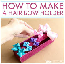 how to make a hair bow easy how to make a hair bow holder easy upcycle diy viva veltoro