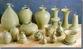 Celadon Vase Baan Celadon Chiangmai 8 Celadon Vase