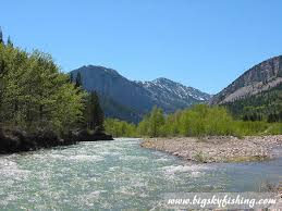 Montana rivers images Fly fishing floating the teton river in central montana jpg