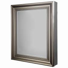 Chrome Bathroom Furniture by Splendid Recessed Framed Medicine Cabinet 61 Concealed Recessed