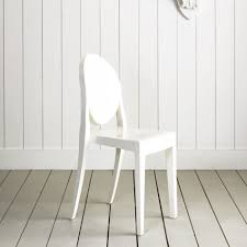 modern interior design victoria ghost chair black plastic