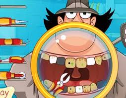 play free inspector gadget teeth care