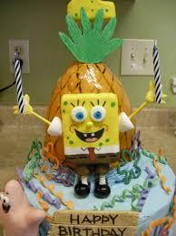 spongebob squarepants 2nd birthday cake cakecentral com