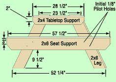kids picnic table plans kids picnic table end profile okay this is the plan buy 6 cedar