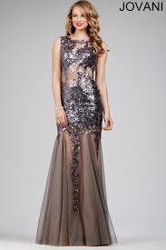 jovani 24551 dress sequin illusion bodice sheer back sheer godet