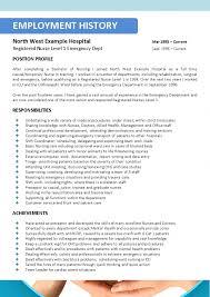 Resume Format For Nursing Job by Free Nursing Resume Builder Best Business Template Registered