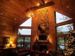 table rock lake house rentals with boat dock luxury lakefront log chalet 50ft to lake boat dockslip pool