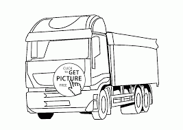 truck coloring kids transportation coloring pages