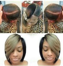 how to do a bob hairstyle with weave how to do invisible part sew in weave natural create and hair style