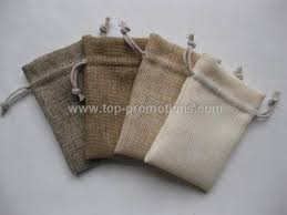 small burlap bags wholesale promotional small burlap drawstring bag fob china us