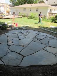 How To Build A Backyard Patio by Best 25 Stone Patios Ideas Only On Pinterest Stone Patio