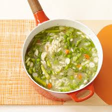 spring vegetable soup with orzo recipes weight watchers