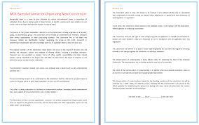 mou sample format for organizing new consortium dotxes