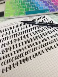 holiday hand lettering tutorial studios hands and photos