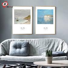 Wohnzimmer Bild Modern Online Kaufen Großhandel Kunst Poster Monet Aus China Kunst Poster