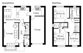 uk floor plans incredible hale homes the baikal 3 bedroom house floor plans uk