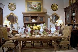 Home Decor France Comely Classy Brown Varnished Teak Wood Country French Dining