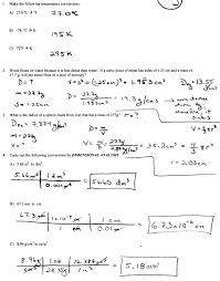 metric dimensional analysis worksheet answers