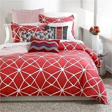 Orange And White Comforter Red And White Comforter 8 Piece King Richwood Red And White
