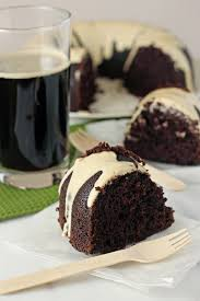 chocolate stout cake with cream cheese glaze cook nourish bliss