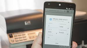 how to print on android printing in android 4 4 kitkat with some help from hp android