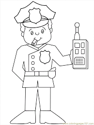 nobby design ideas police officer coloring 10 police car