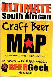 Beer Map South African Craft Beer Map Xavier Nagel Agencies