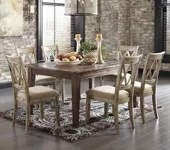 signature design ashley furniture mestler piece table set signature design ashley furniture mestler piece table set with antique white chairs