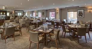 Hilton Cambridge City Centre Hotel Dining - Restaurant dining room furniture