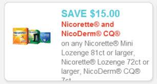 target registry stack black friday 15 1 nicorette or nicoderm coupon target triple stack deal