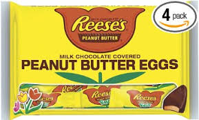 peanut butter eggs for easter reese s easter peanut butter eggs snack size 11 4 ounce bags