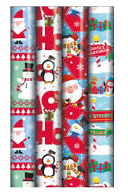 christmas gift wrap rolls 4 x 5m rolls of christmas gift wrap wrapping paper kids character