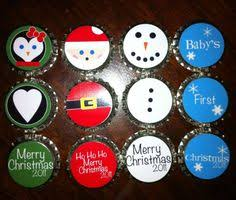 easy recycled decorations and ornaments bottle caps