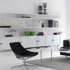 Wohnzimmer Regale Design String Klapptisch Weiß Weiß Regal Metall Bücherregale Und Metall