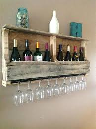 wine rack clever ways of adding wine glass racks to your homes