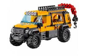 lego city jeep lepin 02061 база исследователей джунглей аналог lego city 60161