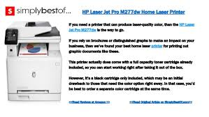 the 7 best home laser printers